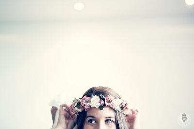 Tocados de novia 2015, accesorios con estilo para sustituir el velo