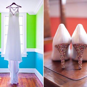Real Wedding: Una boda enmarcada por la diversión de los detalles en naranja y rosa brillante