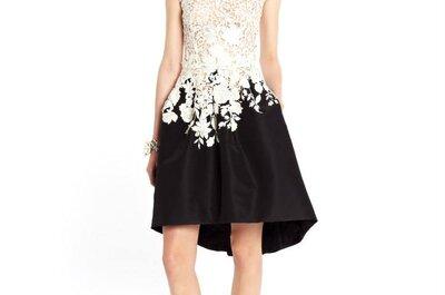 Vístete de elegancia y distinción: Los vestidos de fiesta 2015 de Oscar de la Renta serán tu obsesión