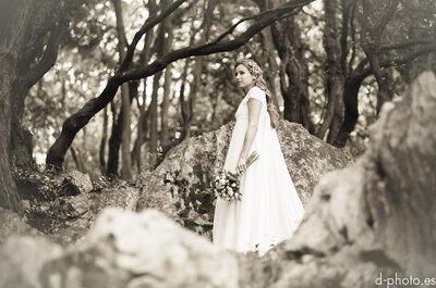 Encanto de amor: Sesión de fotos de novia inspirada en una princesa enamorada