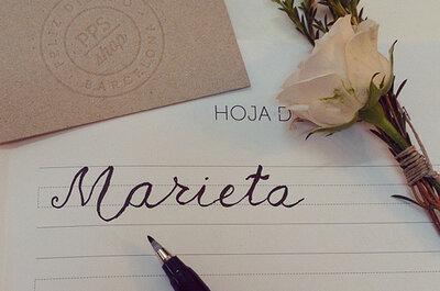 Caligrafía para las invitaciones de boda ¿sí o no?