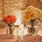 Hochzeitsdeko mit Blumen