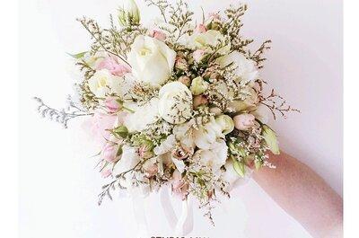 Os mais lindos buquês de noiva do Rio de Janeiro: conheça 10 floristas que realizarão o seu sonho
