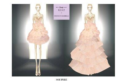 L'abito da sposa della settimana: Franco Ciambella