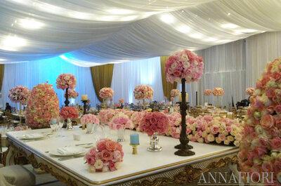 Ten una boda elegante, majestuosa y con mucho estilo: Annafiori nos comparte su experiencia y consejos