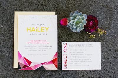 Detalles geométricos para la decoración de tu boda: Lo más innovador para 2016