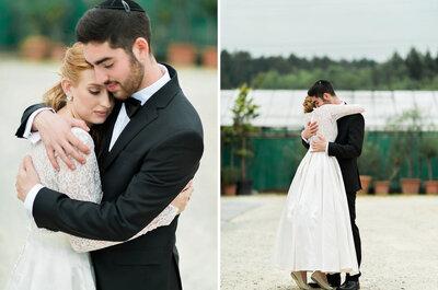 Lily & Emanuel: Einblick in ihre traditionell jüdische Hochzeit im Giardino Verde!