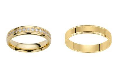 Les plus beaux duos d'alliances pour votre mariage repérés chez Alliances Antipodes