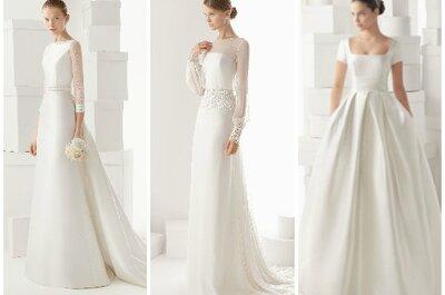 Suknie ślubne 2014: Delikatność w kolekcji Rosy Clary