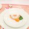 Detalles en colores cítricos para la decoración de boda - Foto KT Merry Photography