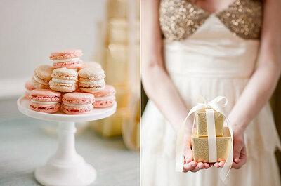 Macarons: cores e estilo no seu casamento