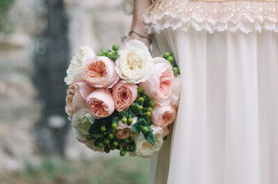 Un matrimonio vintage-chic a Firenze: riuscite a immaginare qualcosa di più magico?