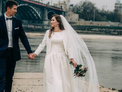 Wideo ślubne w Warszawie otulonej jesienią. Cudowna Para i wspaniale kadry!