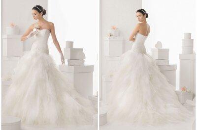 El vestido de la semana: un elegante diseño dos en uno de Rosa Clará