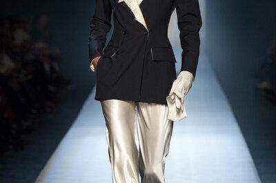 Jean Paul Gaultier alta costura primavera 2015: El epítome de las bodas hecho realidad