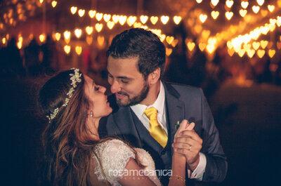 Casamento de Fernanda e Lucas: BOHO, totalmente DIY e ao ar livre!