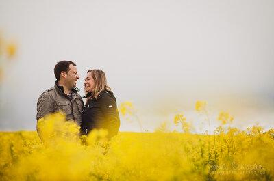 Cómo proponerle a tu novio hacer una sesión de fotos preboda: 8 razones útiles