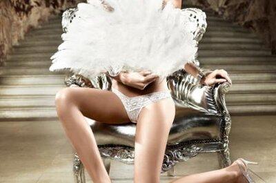 Seksowna bielizna ślubna z kolekcji Baci.