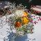 Ramo de flores para centro de mesa al estilo mexicano.