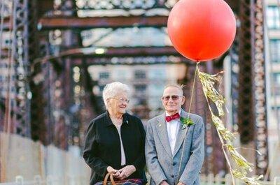 61 rocznica ślubu - spełnione marzenia i ogromna miłość. Musicie zobaczyć tę sesję zdjęciową!