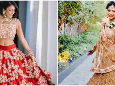 How to select a mind-blowing lehenga for your day wedding: Dark color saga!