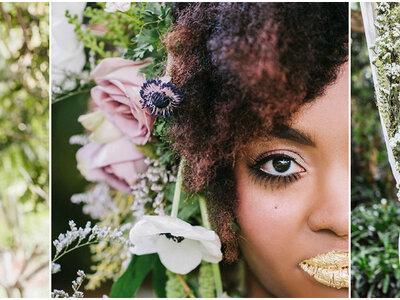 Penteados para noivas negras 2017: criatividade e muito glamour!