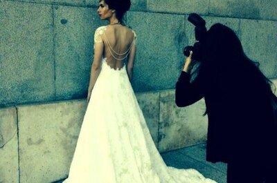 Vestidos de noiva com as costas de fora vão arrasar em 2015