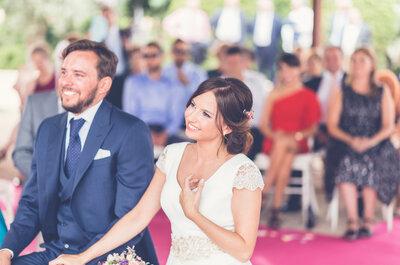 Un nuevo viaje juntos: la boda de Raquel y Carlos