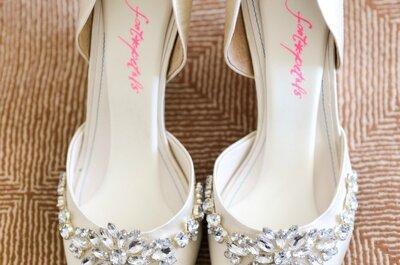 Туфли невесты 2015: тенденции