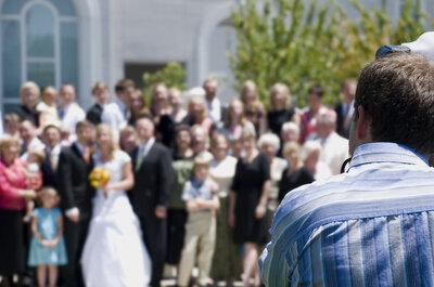 Come scattare la perfetta foto di gruppo ad un matrimonio: la parola agli esperti