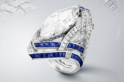 Bling Ring: Anillos de compromiso con zafiros, rubíes y diamantes