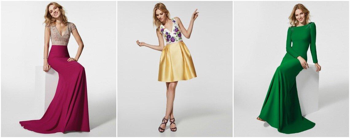 La colección más sorprendente de vestidos de fiesta Pronovias 2018. ¿Te la vas a perder?
