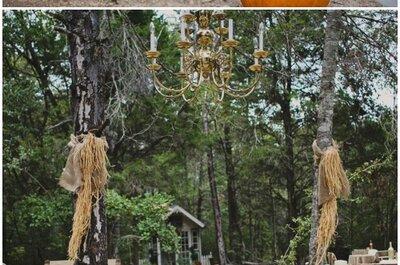 DIY Hochzeitsaltar