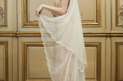 Delphine Manivet 2015: novias románticas y vintage