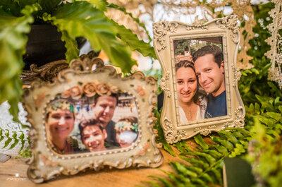 O mini wedding super romântico em São Paulo de Patrícia & Willian: 22 anos e um reencontro!