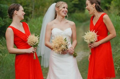 6 Red-Hot Bridesmaids Dresses for Summer