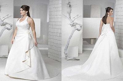 La elección del vestido para novias con curvas
