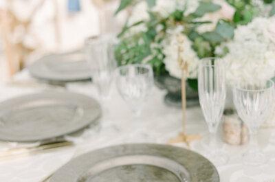 Escolha a melhor louça para o seu casamento, porque o detalhes fazem a diferença.