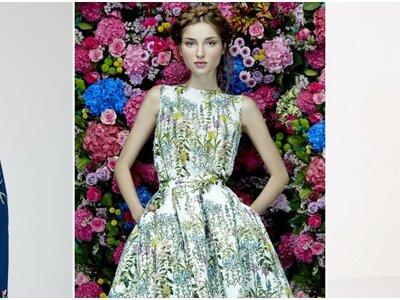 Apuesta por estos vestidos de fiesta estampados 2017: 26 opciones fantásticas