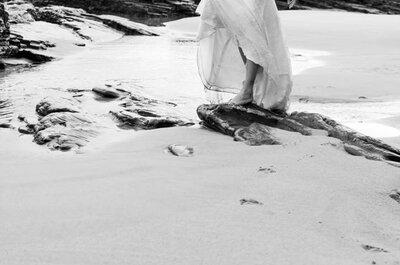 Fotos de bodas con vistas al mar