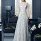 Hochzeitsgastkleid aus der Festmodenkollektion 2015 von Rosa Clará (8T243)