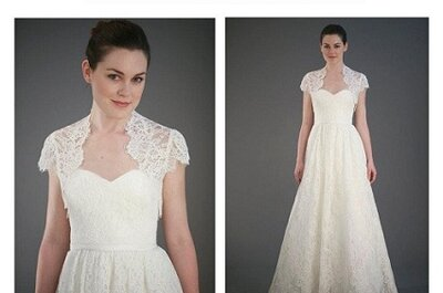 Vestidos de noiva e acessórios delicados: as novidades Jenny Yoo