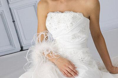 De labels van Très Chic hebben voor iedere bruid wat wils