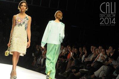 Vestidos para una invitada 10 con lo mejor del Cali Exposhow 2014