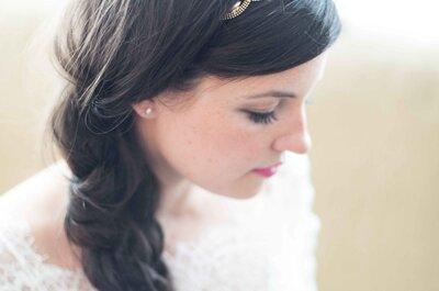 30 acconciature perfette per una sposa dai capelli lunghi