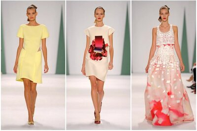 Looks elegantíssimos de Carolina Herrera na Fashion Week de Nova York 2015: feminilidade etérea