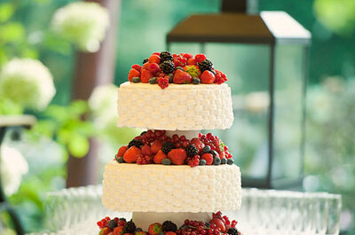 Idee per wedding cake romantica