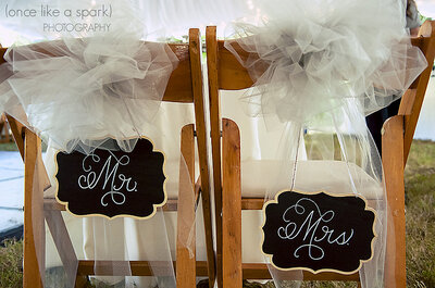 ¿Cómo vestir las sillas de la boda según el estilo? 6 sugerencias para tener en cuenta