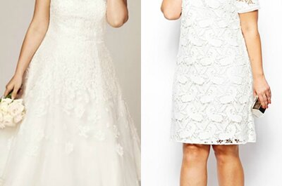Seu vestido de noiva 'plus-size' perfeito