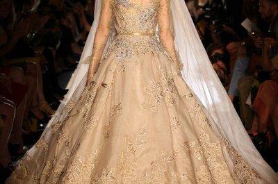 Vestidos de novia de alta costura, colección Elie Saab otoño-invierno